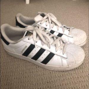 Adidas Originals Superstar Shoe (White/Black)